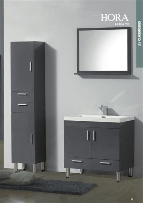 meubles lave mains robinetteries meubles sdb meuble de salle de bain 90 cm hora 900 blanc