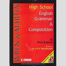High School English Grammar & Composition  Books For You