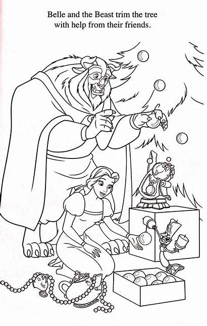 Coloring Beast Disney Belle Princess Magnificence Colouring
