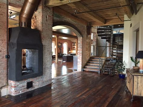 Downtown Durham, NC Loft Renovation of a 100 yr. old