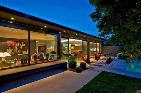 chambre à coucher originale rénovation et extension d une maison contemporaine à