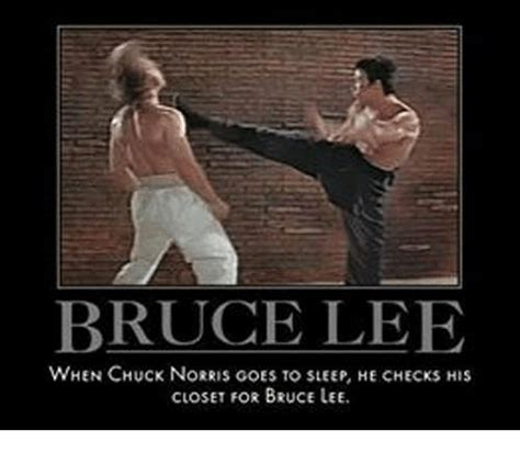 chuck norris on bruce lee funny bruce lee memes of 2016 on sizzle chuck norris