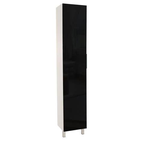 colonne cuisine 50 cm colonne de cuisine l 40 cm noir brillant achat vente