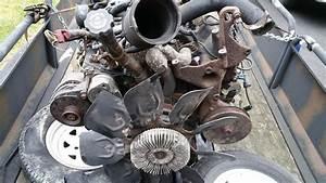 6 5 L Chevy Gmc Turbo Diesel Engine Complete W   4l80e