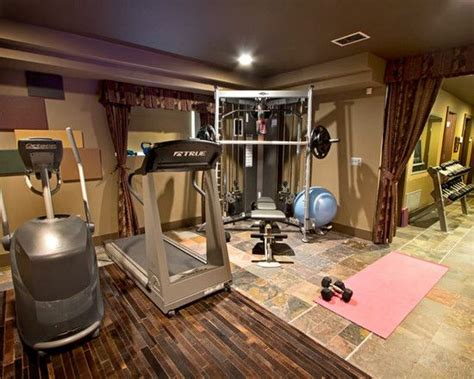 Garage Workout Room Ideas by Home Small Home Gyms Design Pictures Remodel Decor