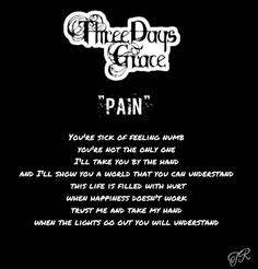 Three Days Grace - Fallen Angel. This song just doesn't ...