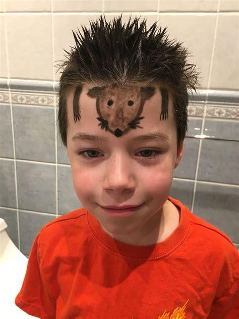 Crazy Hair Day For Boys Hedgehog Spikes Momspiration