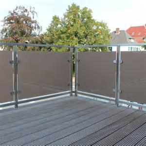 sichtschutz balkon glas glas de sichtschutz balkon