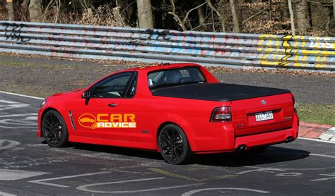 Holden VF Commodore Ute caught at the Nurburgring ...