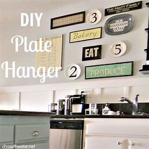 diy plate hanger With 4 easy steps for kitchen wall decor