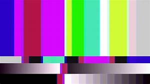 Video Background 1540: TV color bars malfunction with TV ...