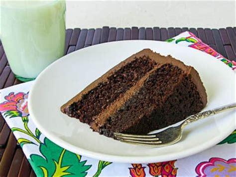 chocolate layer cake  sundaysupper magnolia days