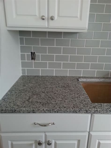 light grey subway tile search kitchens