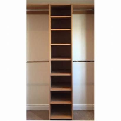 Shelves Column Single Wardrobe Sliding Accessories Doors