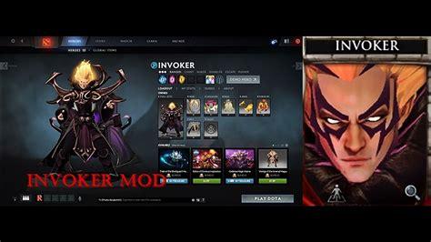 dota  invoker dark artistry magus apex mod set  bp updated youtube