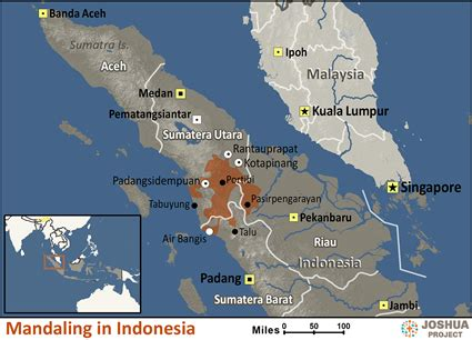 mandailing  indonesia ethnic people profile