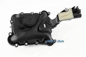 OEM Engine Crankcase Vent Trim Valve Oil Separator Fit Audi A4 A5 A6 A8 Q5 Quattro 3 2 V6