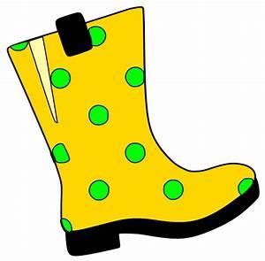 Rain boot clipart - Clipground