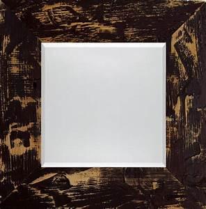 Spiegel Zum Aufstellen : quadratischer spiegel im holzrahmen braun 7cm facette ~ Whattoseeinmadrid.com Haus und Dekorationen
