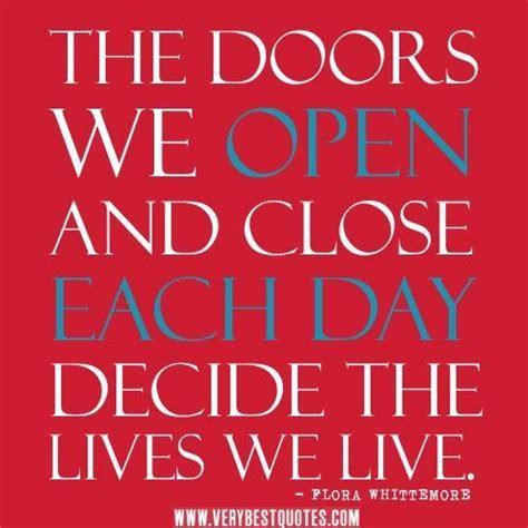 quotes about doors quotes about open doors quotesgram