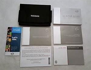 2017 Nissan Altima Sedan Owners Manual Guide Book