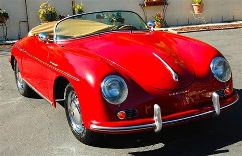 Porsche Replica 1956 356 Speedster, Porsche Red For Sale