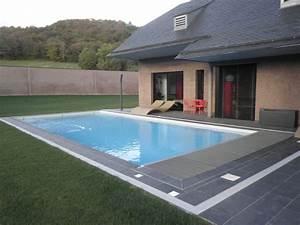 kit piscine pau tarbes pyrenees atlantiques hammam sauna With volet roulant piscine gris