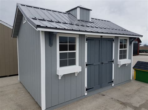 Temporary Sheds by Portable Storage Buildings Sheds Garages Springfield Il