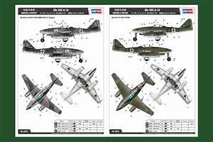 Messerschmitt Me 262 A-1b 80375-1:48-HobbyBoss