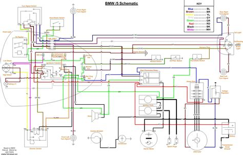 wiring diagram bmw k1 7 k75 90on wiring1of3 domainadvice org