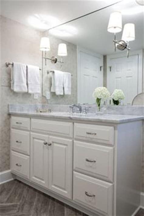 color  granite countertops  white bathroom