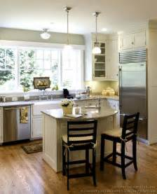 kitchen island spacing cottage kitchens photo gallery and design ideas
