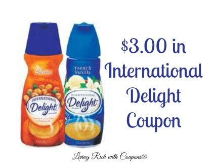 coupons international delight