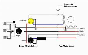 Electric Fan Capacitor Wiring Diagram