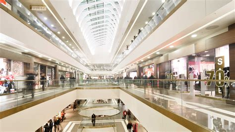shopping malls bosch security  safety systems uk