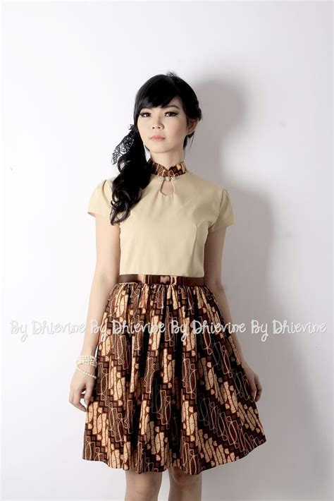 modern batik dress ideas  pinterest rok