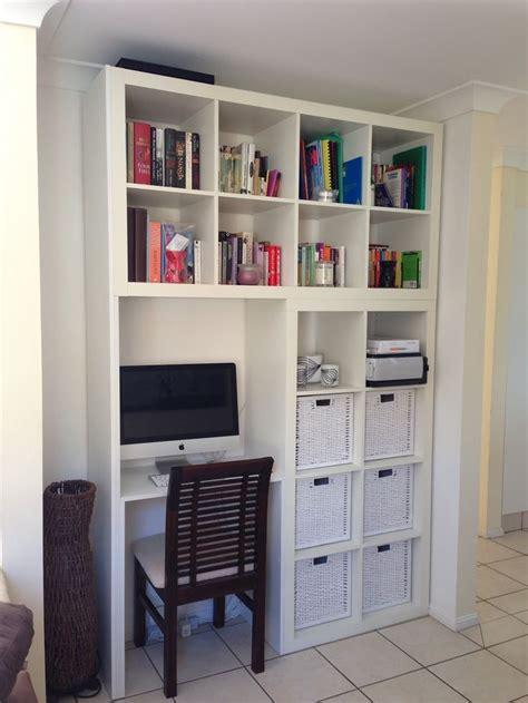 ikea etagere bureau l 39 étagère ikea kallax avec 8 casiers les p 39 mots