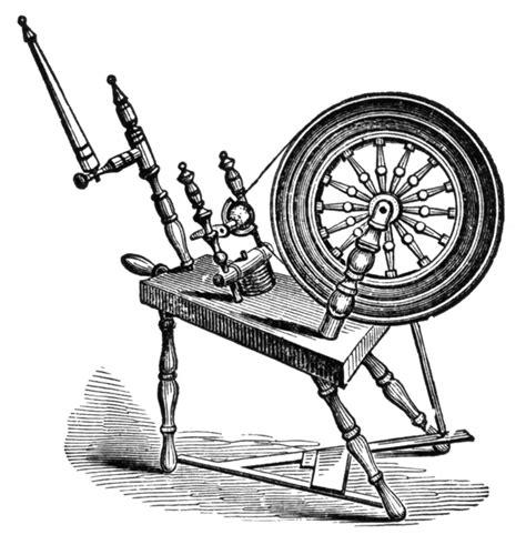 spinning wheel clipart