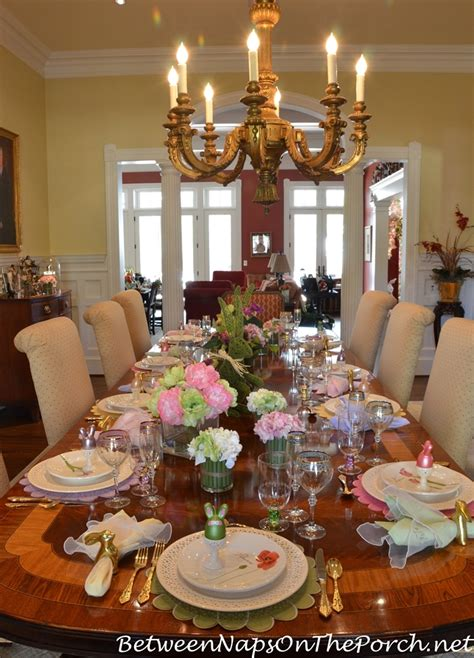 maries beautiful spring easter table setting