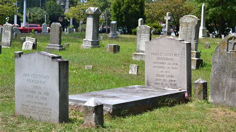 perry como burial site gatsby author fitzgerald rests in a d c suburb npr