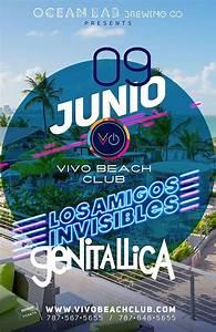 Genitallica @ VivoBeachClub (Puerto Rico)