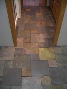 bathroom floor tile ideas recently finished a bathroom With natural slate bathroom tiles