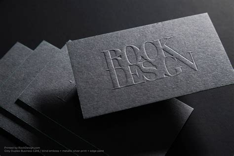 print embossed business cards  today rockdesigncom