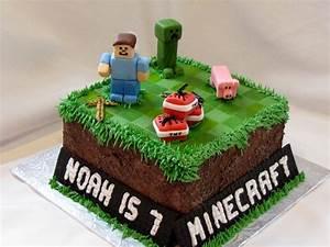 Minecraft cake Cakewalk Catering