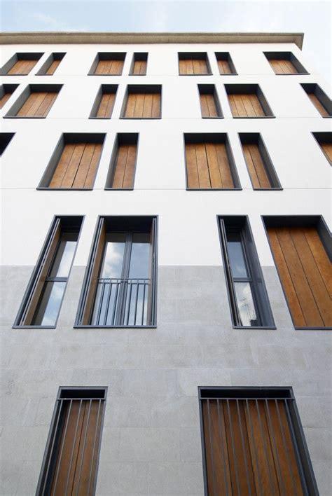 Beton Holz Fassade facade concrete wood fassaden geb 228 udefassade putz