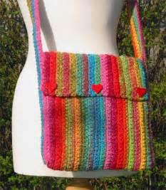 Free Easy Crochet Patterns Purses Bags