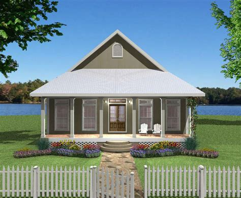Small Plan Big Heart 2568DH Cottage Country