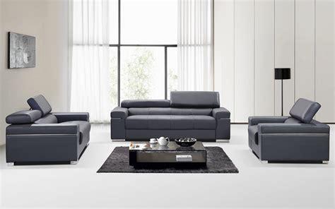 modern italian leather sofa contemporary grey italian leather sofa set with adjustable