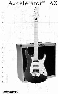 Peavey Guitar Axcelerator Ax User Guide