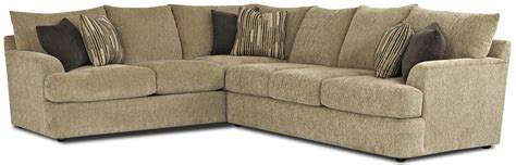 Contemporary L Shaped Sofa by Contemporary L Shaped Sectional Sofa By Klaussner Wolf